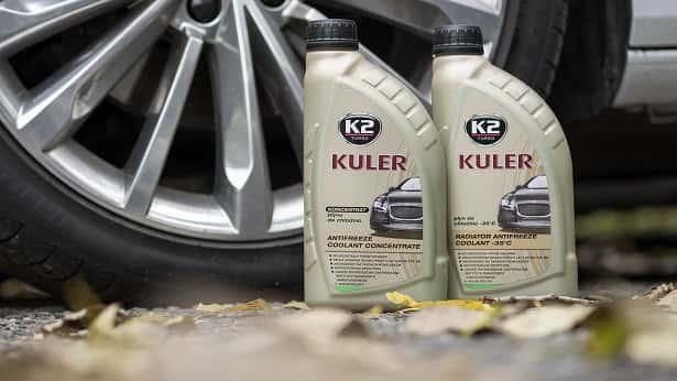 Zielony płyn do chłodnic K2 Kuler, w butelce 1 L