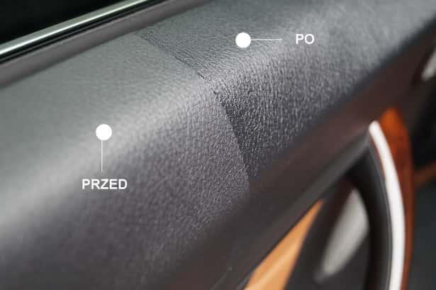 bmw-drzwi-tapicerka-w-połowie-wyczyszczona-dressingiem-do-kokpitu-porównanie-czyste-vs-brudne