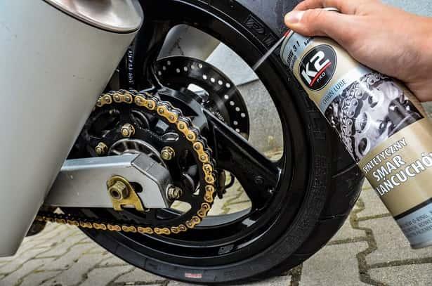 syntetyczny smar do łancuchów motocyklowych i rowerowych