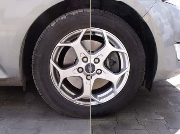 płyn do mycia felg samochodowych
