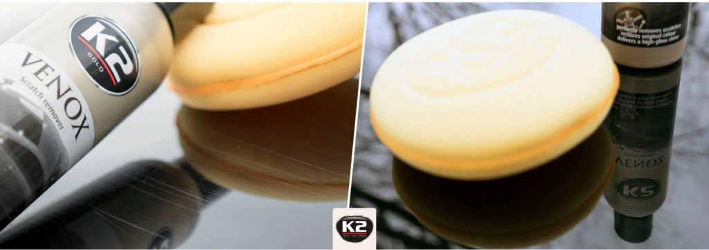 Efekt przed i po użyciu K2 Venox
