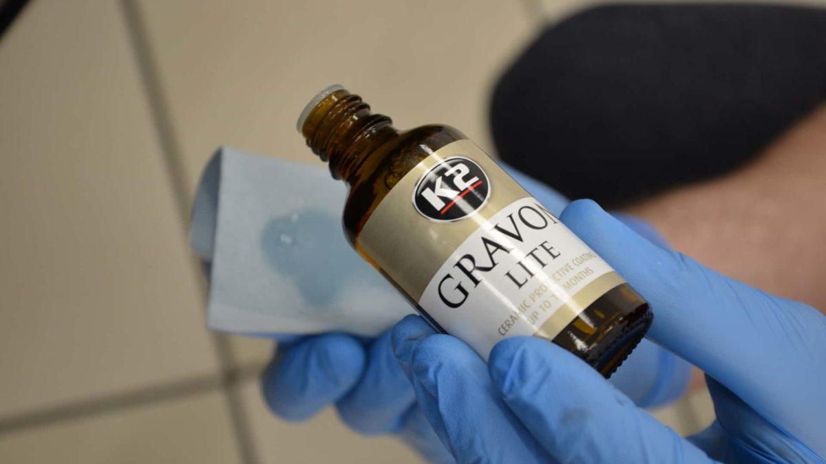 Ceramiczna ochrona lakieru K2 Gravon Lite. Koniec z woskowaniem samochodu?