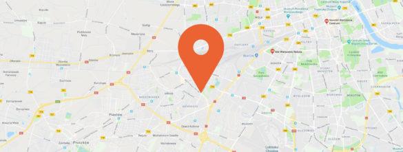 Znacznik na mapie