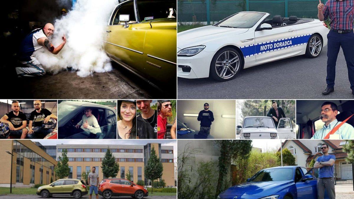 10 Twórców internetowych, których każdy miłośnik samochodów powinien poznać.