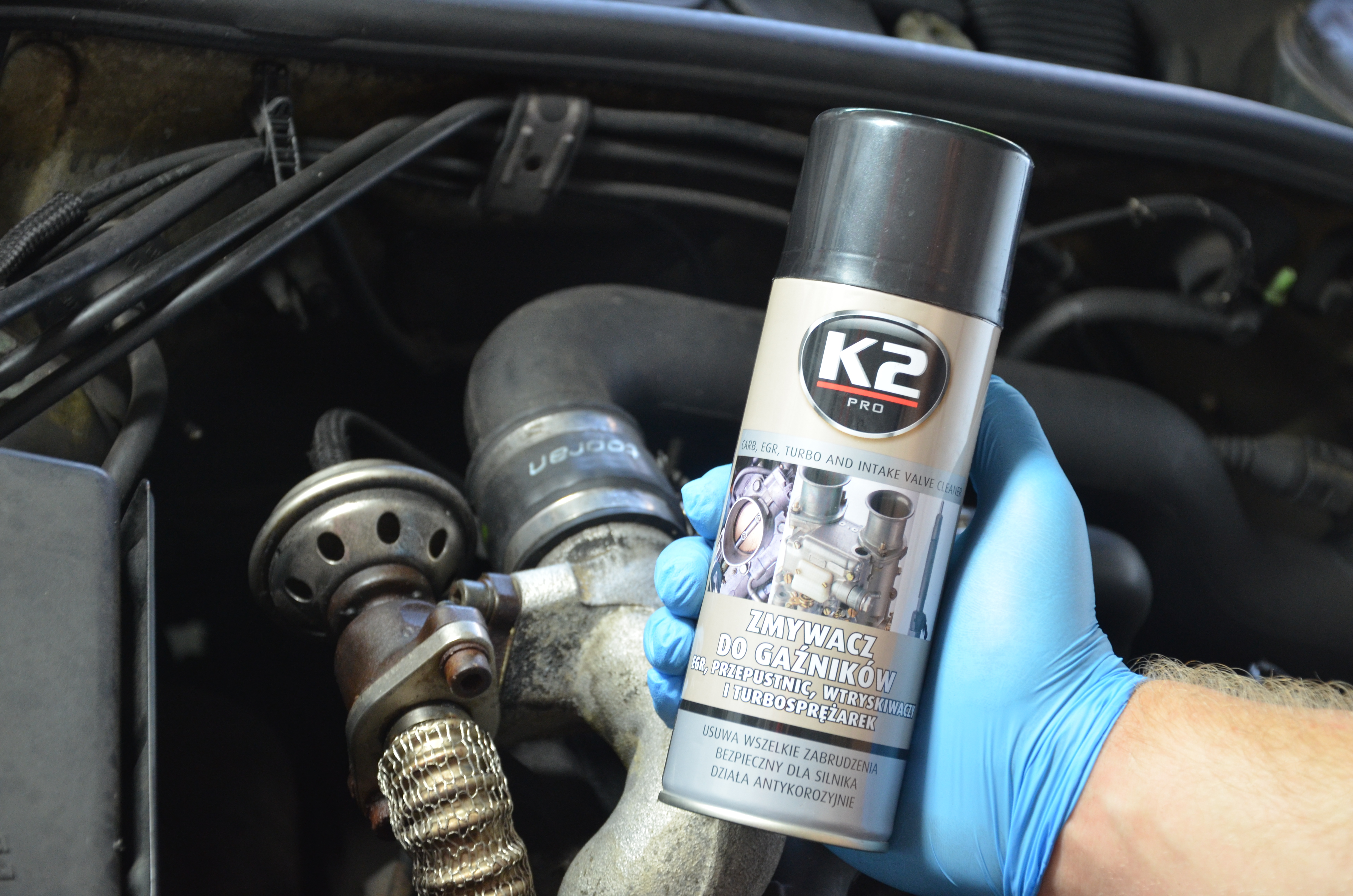 Butelka K2 zmywacza do gaźników