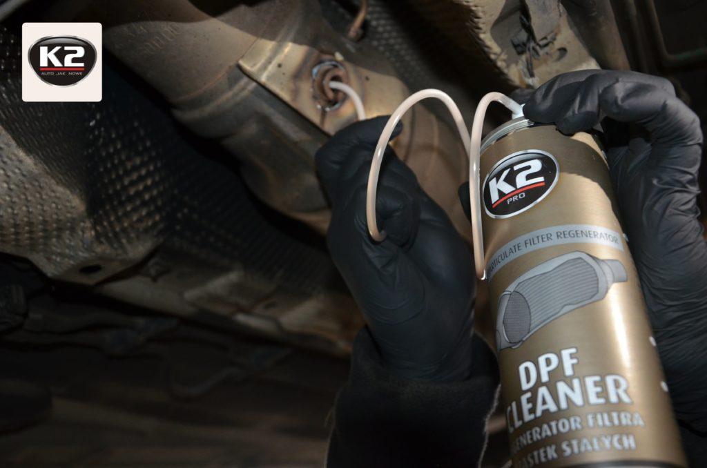 Wykorzystanie K2 DPF Cleaner w praktyce