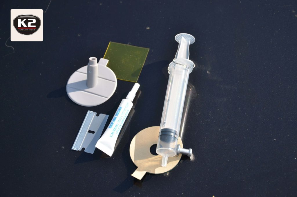Zestaw naprawczy do szyby K2 Glass Doctor