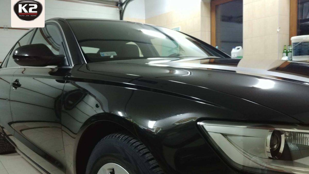 Test powłoki ceramicznej K2 Gravon Lite na Audi A6 C7