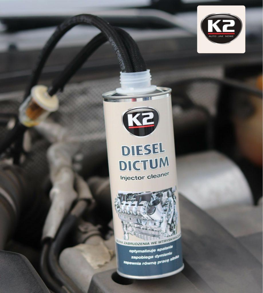 K2 Diesel Dictum w trakcie użycia