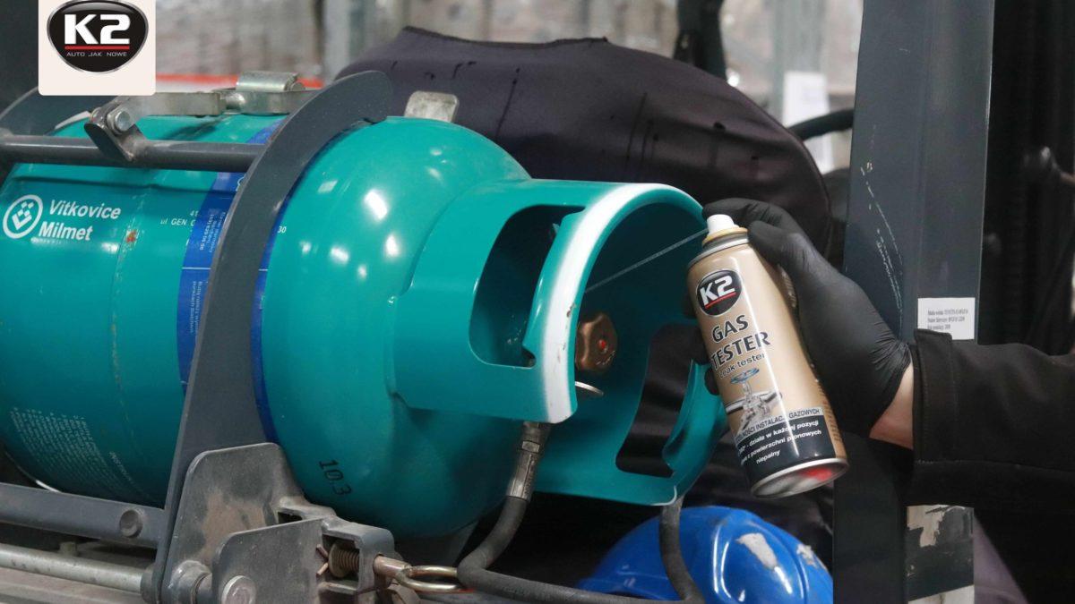 Sprawdzanie szczelności instalacji gazowej – K2 Gas Tester