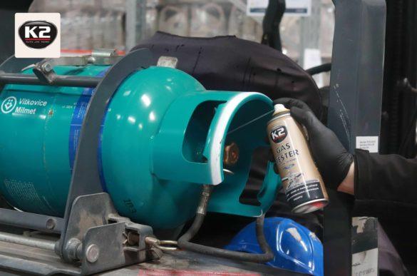 Sprawdzanie szczelności instalacji gazowej z K2 Gas Tester