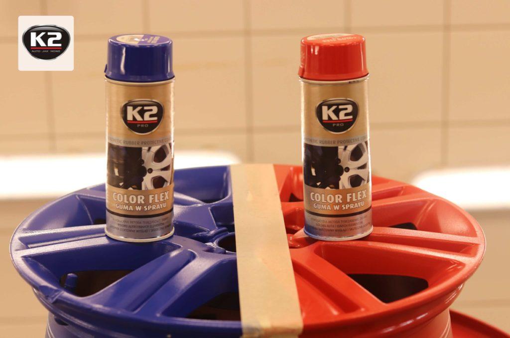 Guma w sprayu K2 Color Flex