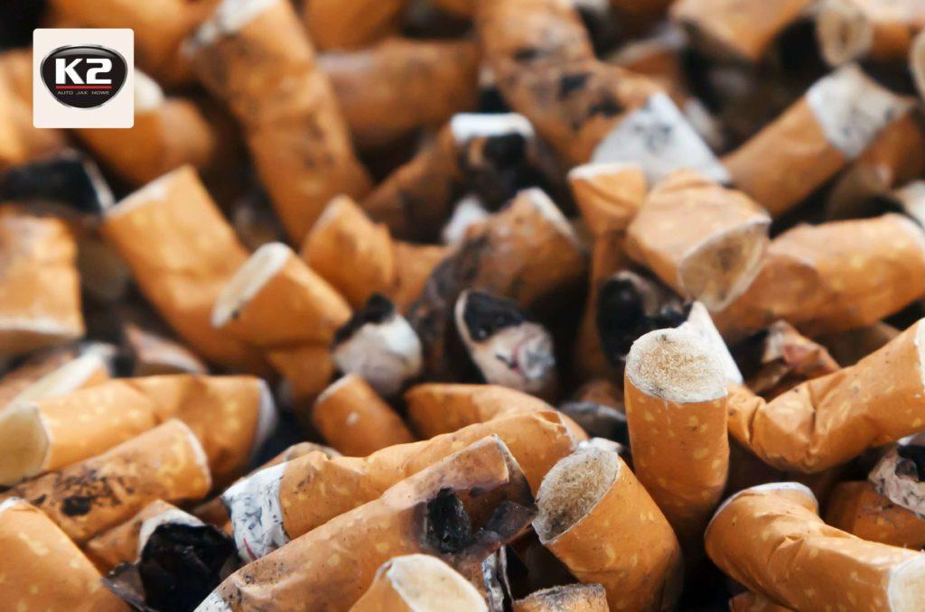Zapach dymu papierosowego w samochodzie