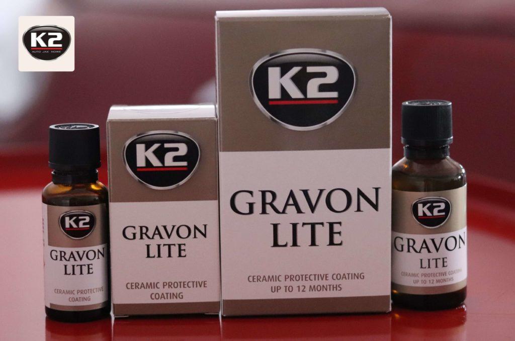 K2 Gravon Lite zestawienie dwóch pojemności