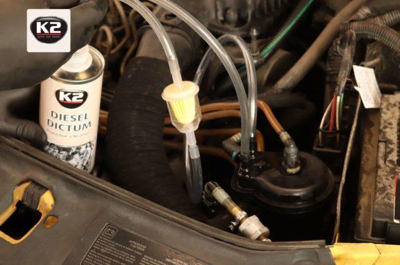 Czyszczenie wtryskiwaczy w silniku 1.5 DCI