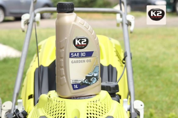 K2 Garden Oil na kosiarce