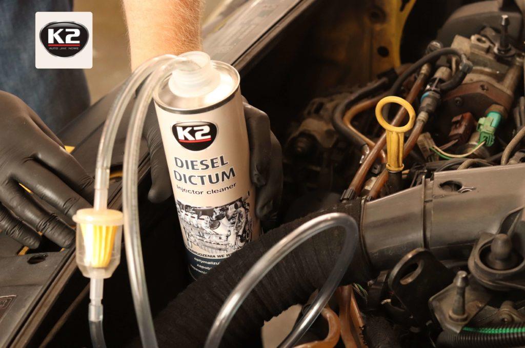 Użycie K2 Diesel Dictum