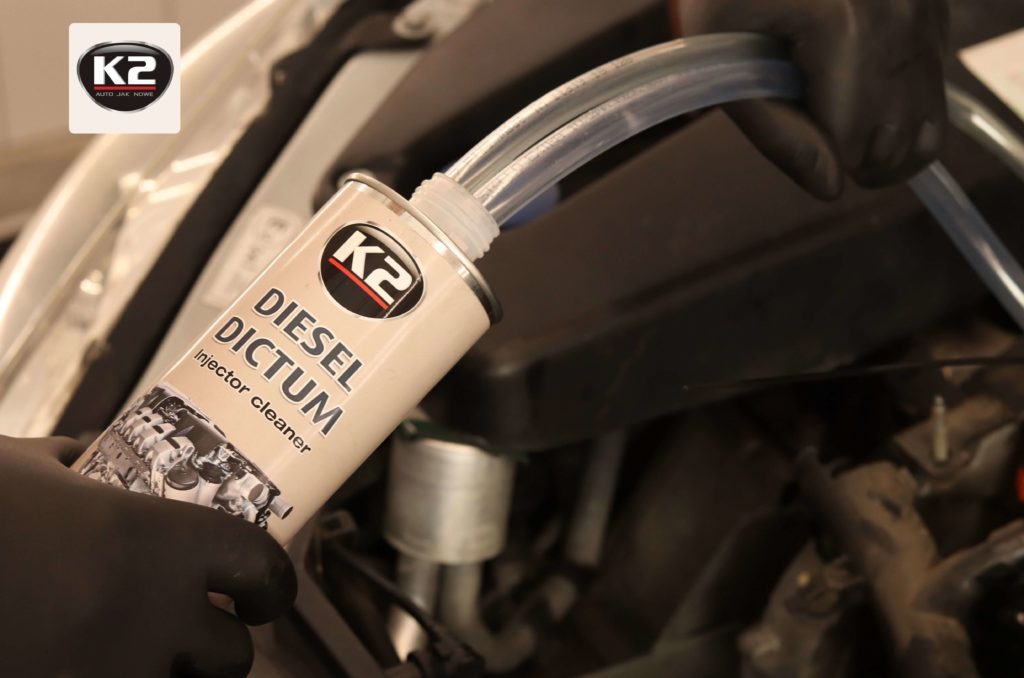 Wprowadzanie przewodów do K2 Diesel Dictum