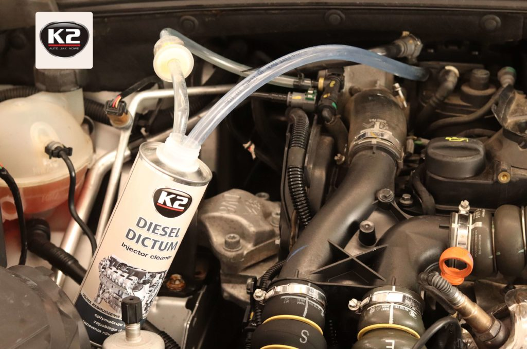 Wprowadzanie wężyków do k2 diesel dictum