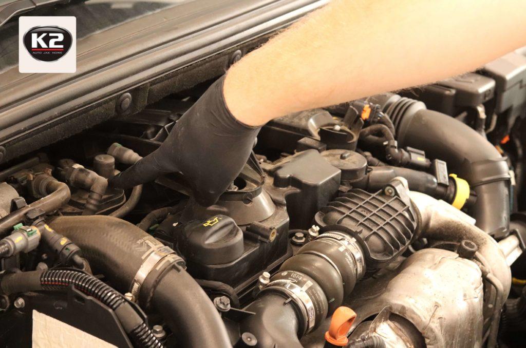 Wymiana filtra paliwa na nowy