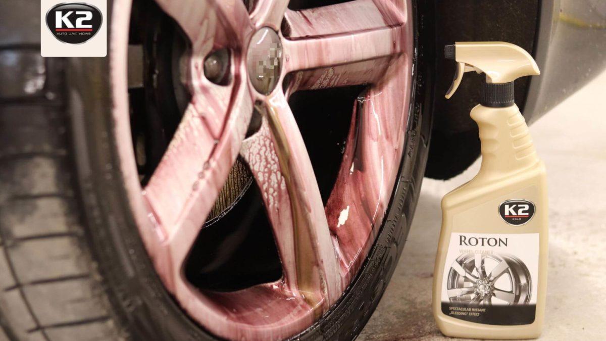 Deironizer i czerwona felga – usuwanie zanieczyszczeń metalicznych z felg i lakieru