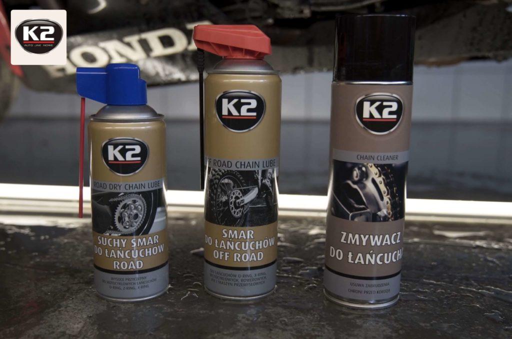 Produkty do motocykla od K2