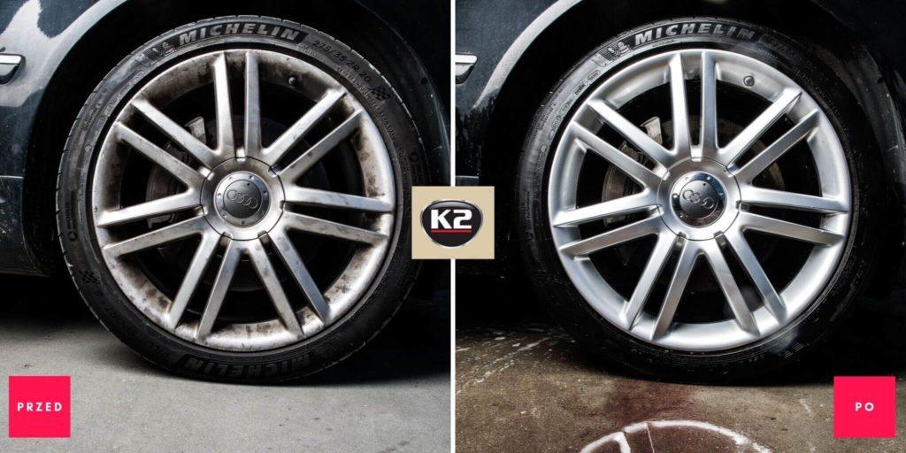 Efekt przedi po zastosowaniu K2 Roton Pro