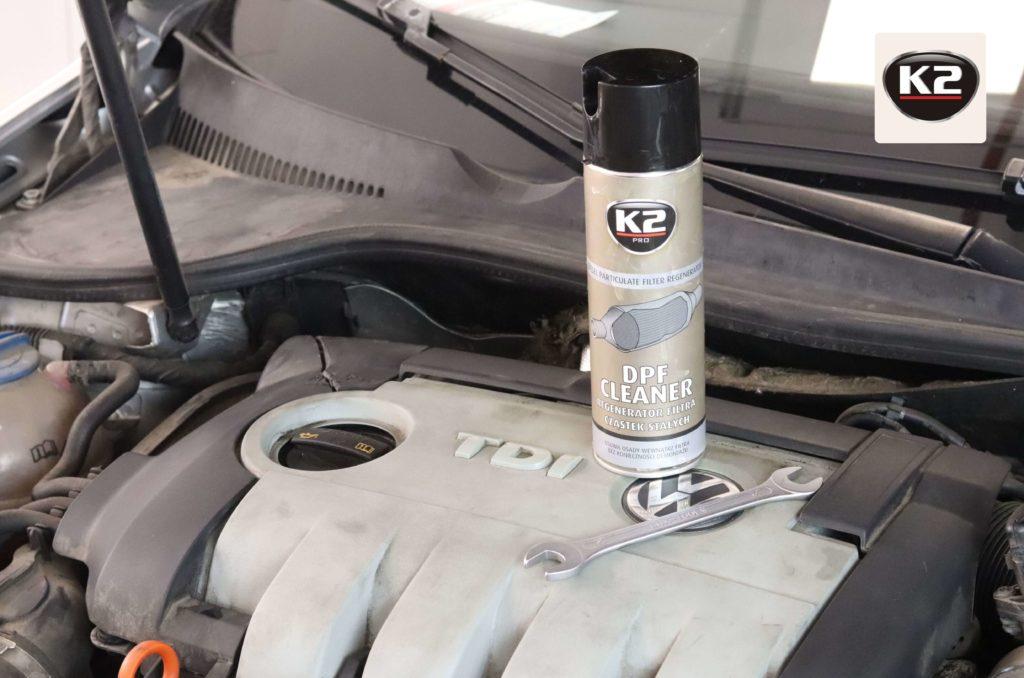 Zestaw do czyszczenia DPF w silniku 1.9 TDI