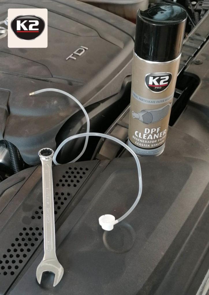 Zestaw do czyszczenia DPF w silniku 2.0 TDI