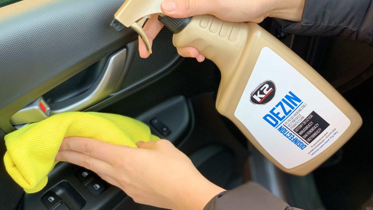 Jak SKUTECZNIE dezynfekować auto?