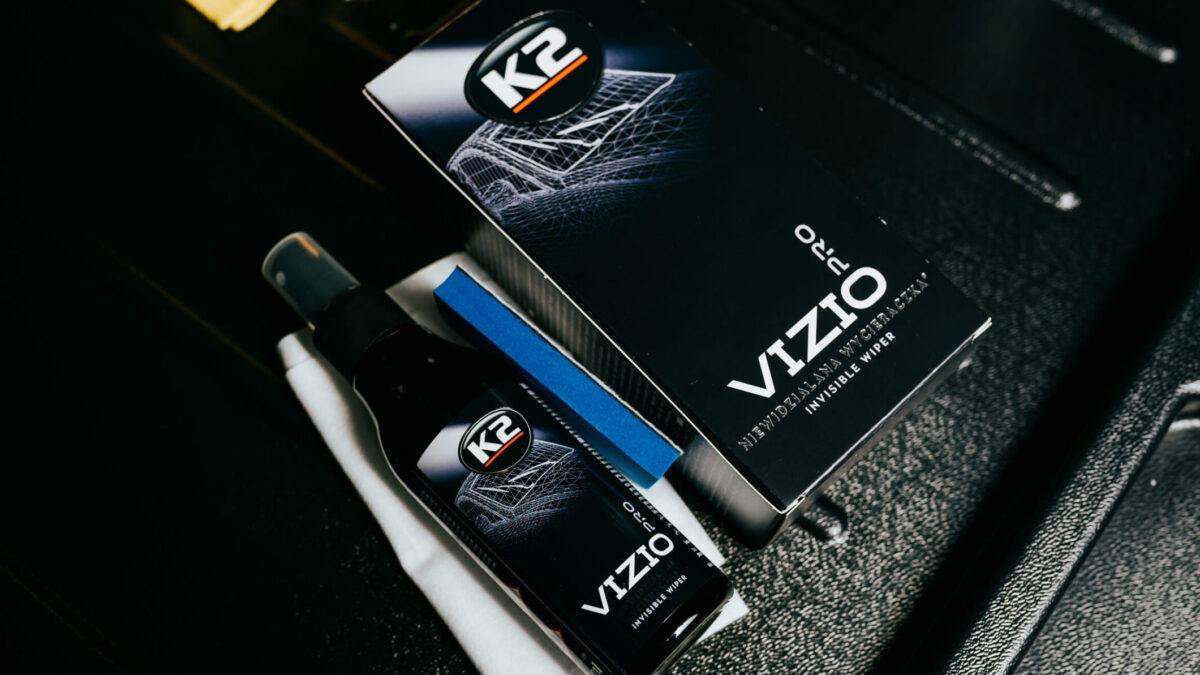 Nakładanie niewidzialnej wycieraczki K2 VizioPro – instrukcja krok po kroku