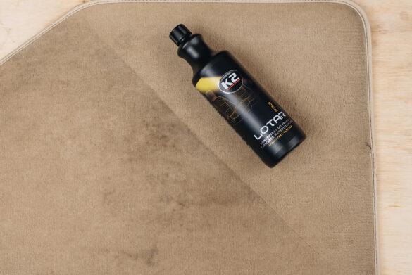 czyszczenie dywaników z pomoca k2 lotar