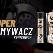 K2 Brake Cleaner super zmywacz dohamulców