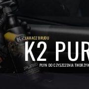 K2 purio pro   srodek doczyszczenia plastikow itworzyw sztucznych