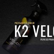 K2 velor  plyn doczyszczenia podsufitki