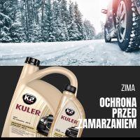 K2 KULER -35°C CZERWONY 5 L