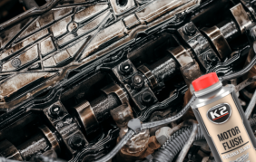 Płukanka do silnika diesla lub benzynowego K2 Motor Flush stosuj przed każdą wymianą oleju - poradnik