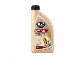 K2 TEXAR 5W40 BENZIN DIESEL LPG 1 L
