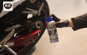 Suchy smar do łańcucha motocyklowego