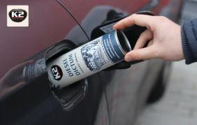 Czyszczenie wtryskiwaczy za pomocą K2 Diesel Dictum