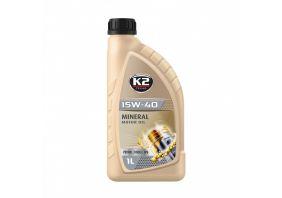 K2 TEXAR 15W40 BENZIN DIESEL LPG 1 L