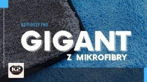 K2 Flossy Pro największy ręcznik do osuszania samochodu