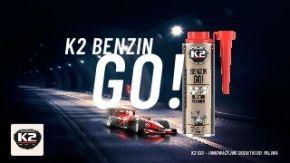 K2 Benzin Go! Środek do czyszczenia wtryskiwaczy w autach benzynowych 250ml