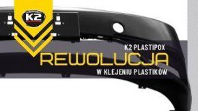 Klej do plastiku K2 Plastipox -  spawanie plastiku - super mocny