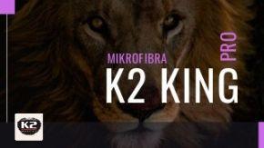 K2 King Pro mikrofibra do osuszania, ręcznik samochodowy