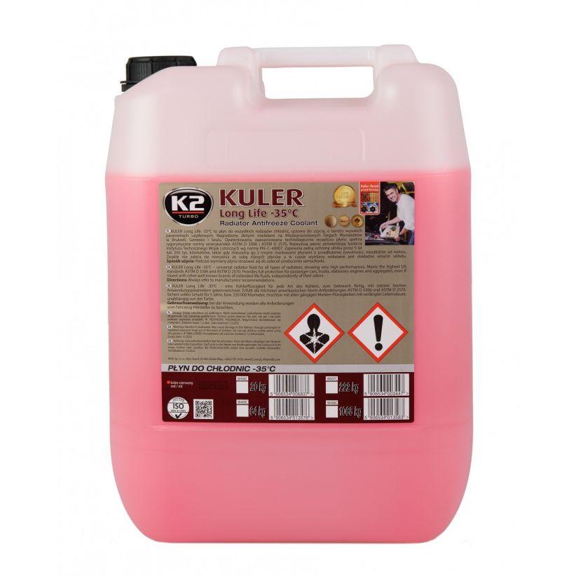 K2 KULER -35°C CZERWONY 20 KG