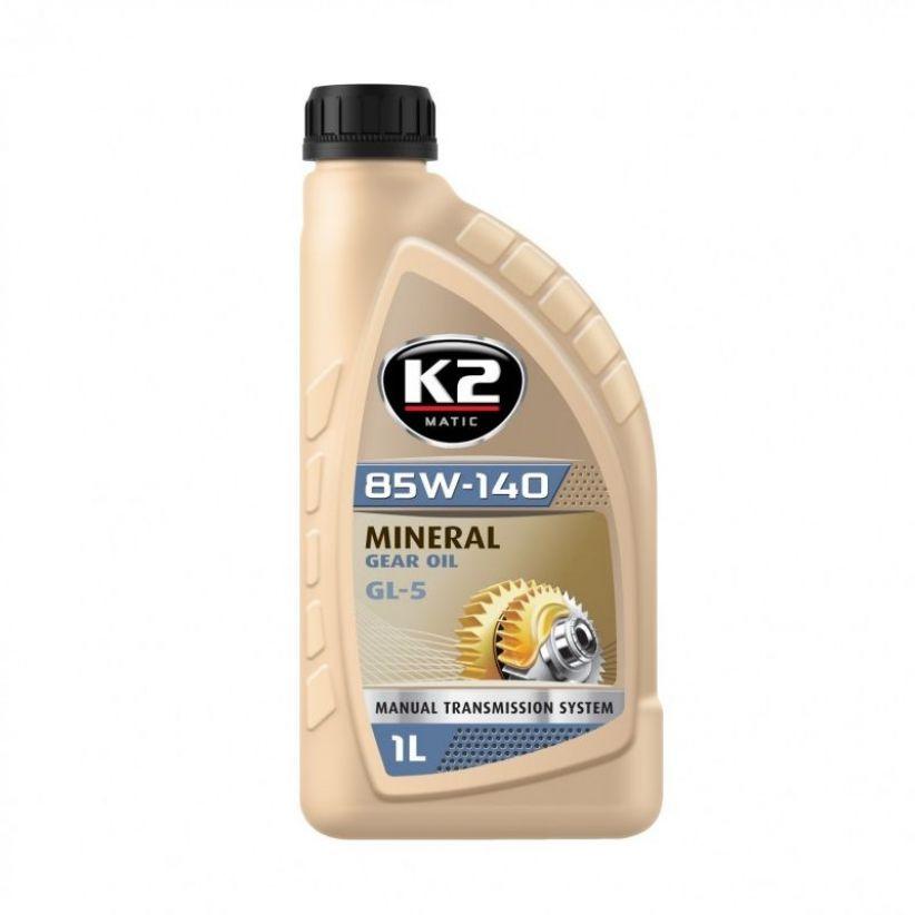 K2 85W-140 GL5 GL4 1L