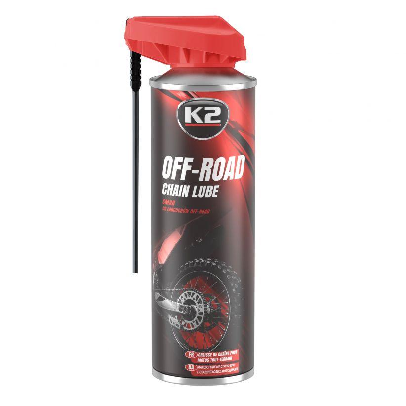 K2 SMAR DO ŁAŃCUCHÓW OFF-ROAD 250 ML
