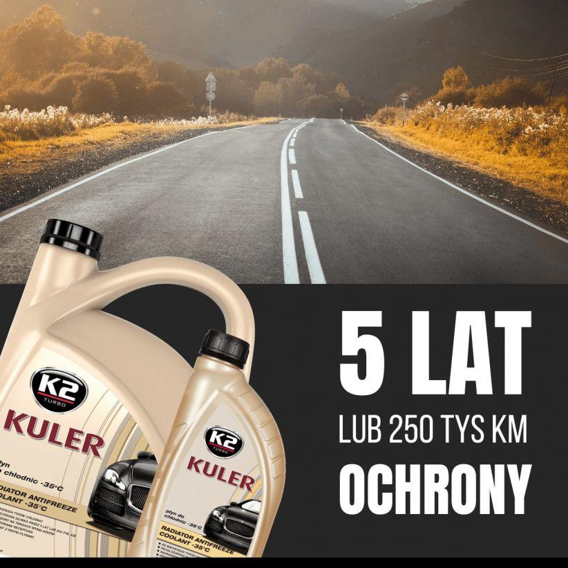 K2 KULER -35°C POMARAŃCZOWY 5 L