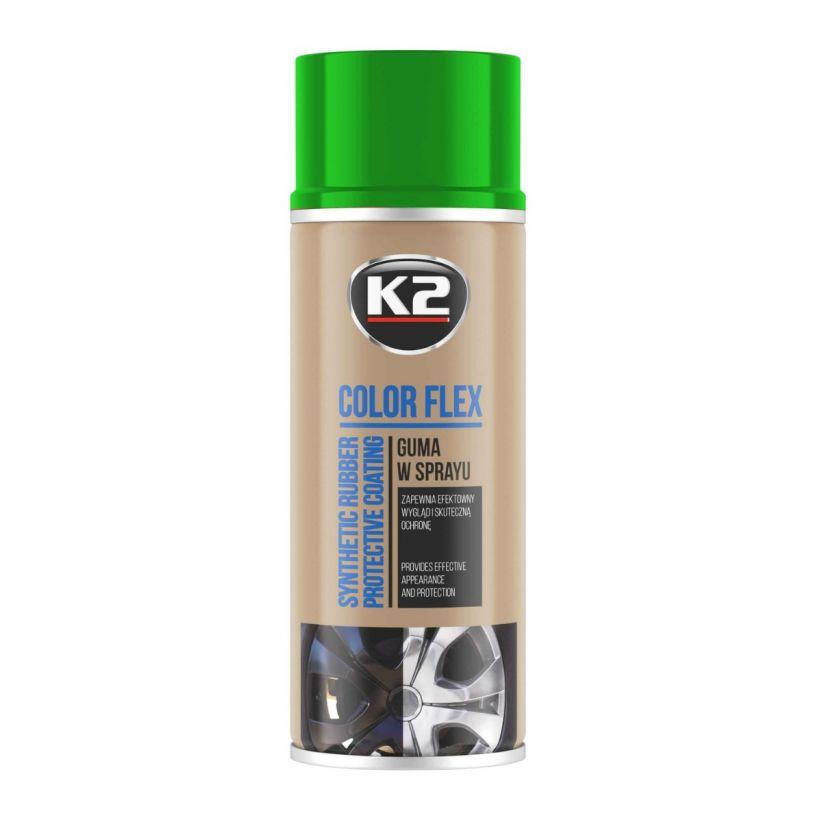 K2 COLOR FLEX JASNY ZIELONY 400 ML